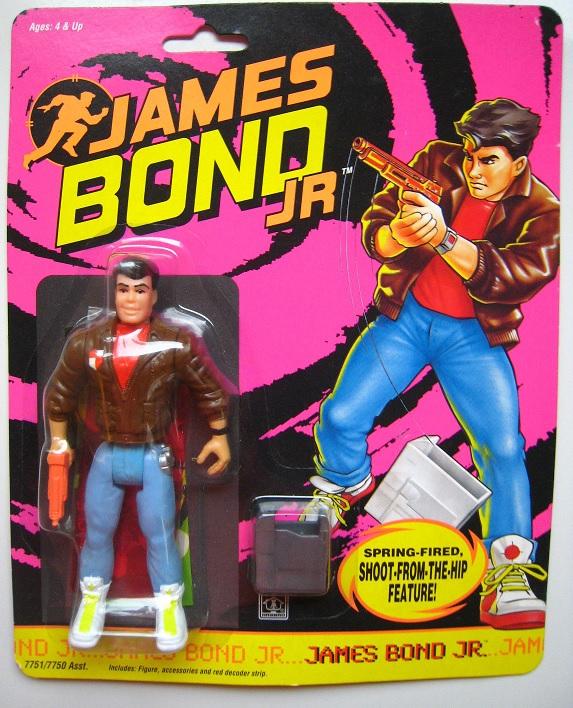 JAMES BOND JR (Hasbro) 1991 0114