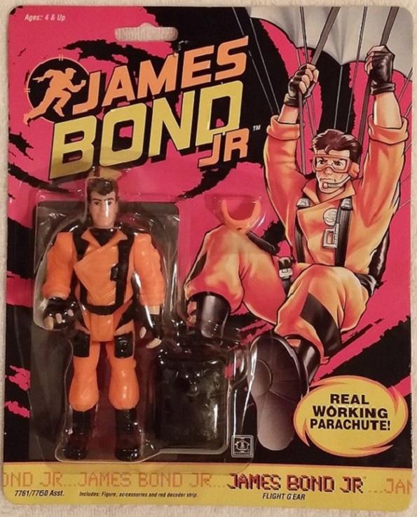 JAMES BOND JR (Hasbro) 1991 0314