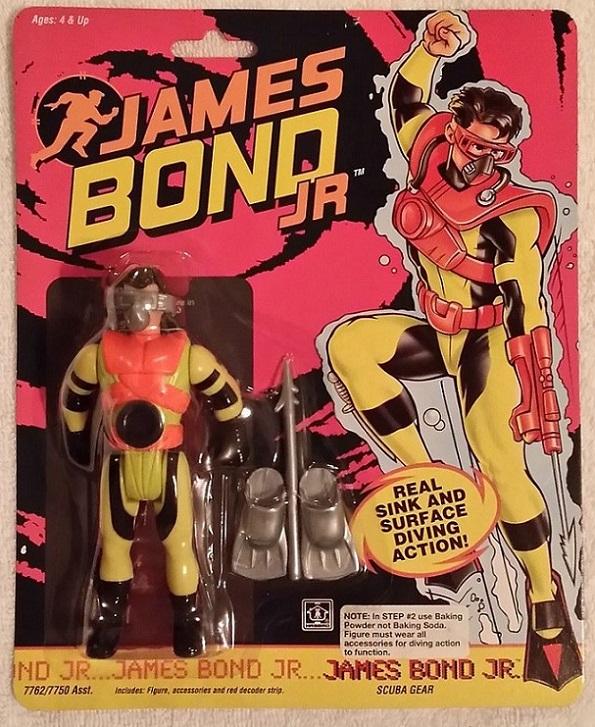 JAMES BOND JR (Hasbro) 1991 0414