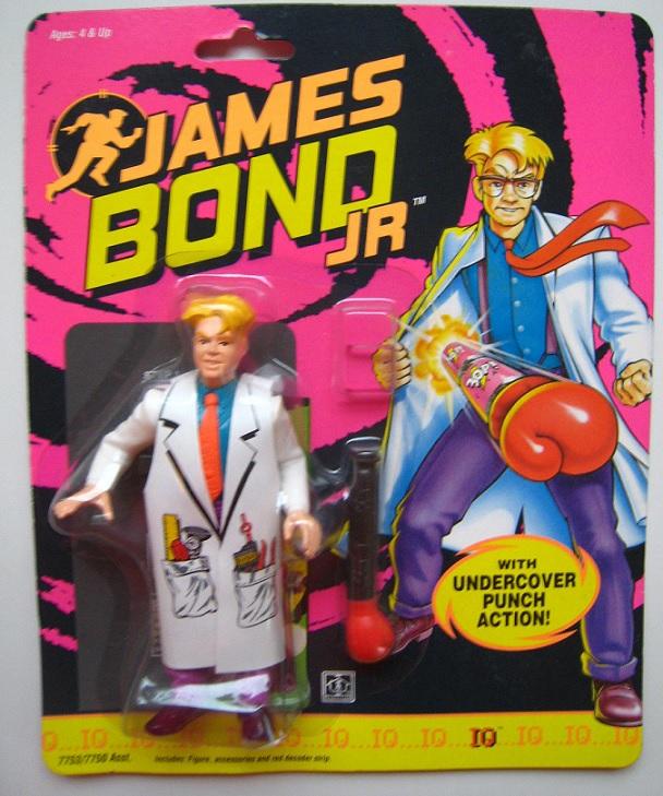JAMES BOND JR (Hasbro) 1991 0614
