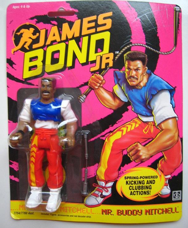 JAMES BOND JR (Hasbro) 1991 0712