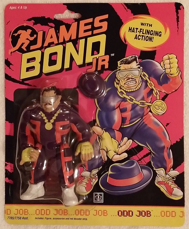 JAMES BOND JR (Hasbro) 1991 1012