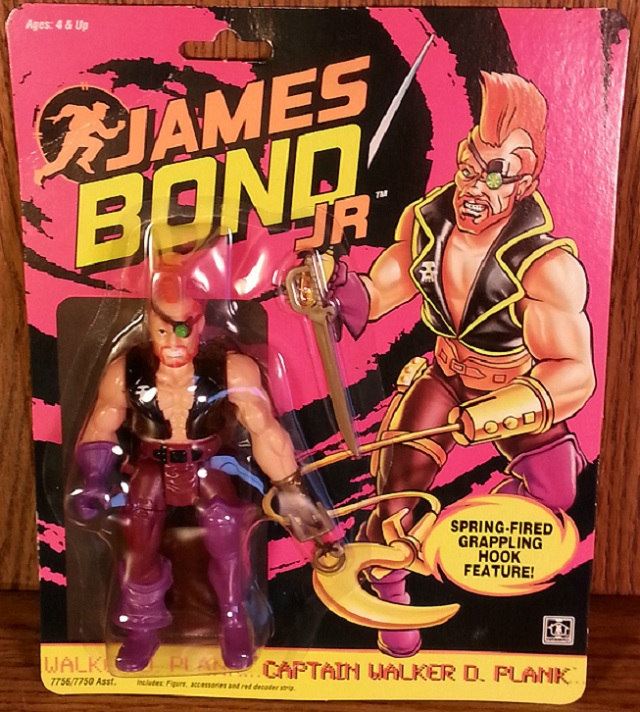 JAMES BOND JR (Hasbro) 1991 1212