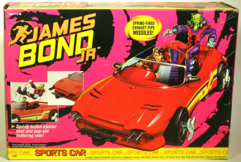 JAMES BOND JR (Hasbro) 1991 1312