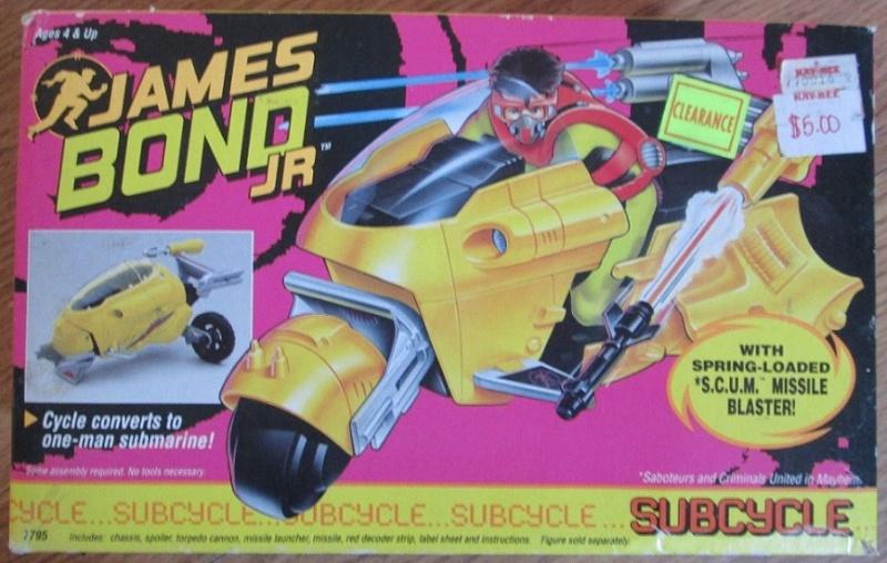 JAMES BOND JR (Hasbro) 1991 1411
