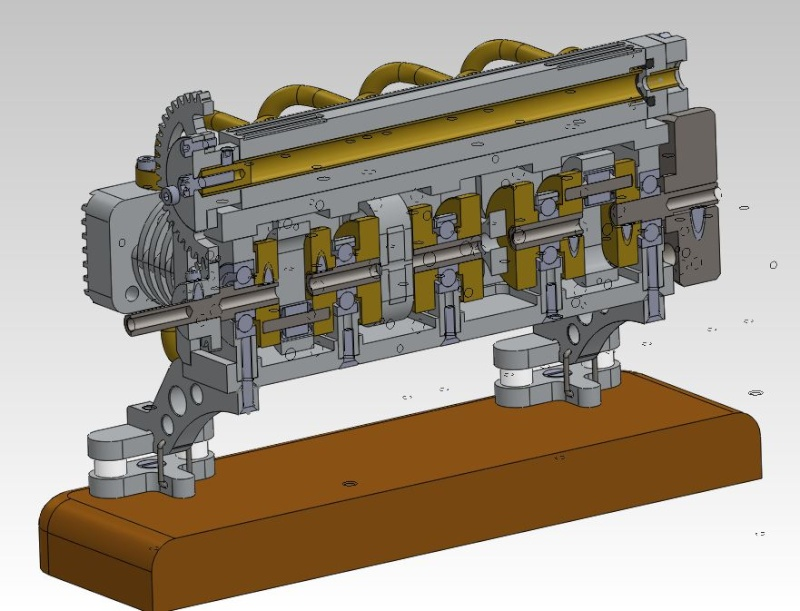 Moteur à air comprimé - 8 cylindres à plat Captur14