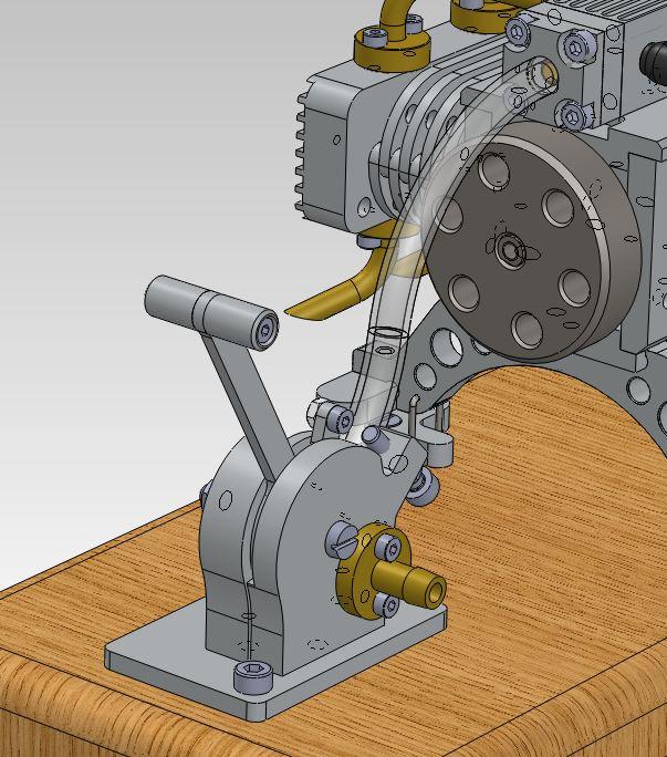 Moteur à air comprimé - 8 cylindres à plat Captur23