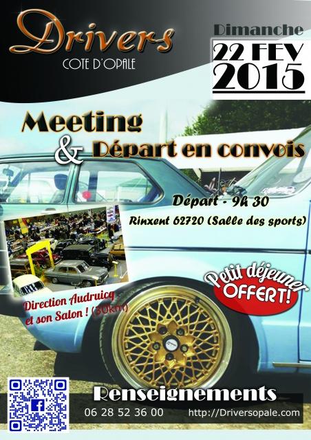 """AUDRUICQ  En convois la route ensembles """"DRIVERS COTE D' OPALE"""" 68450310"""