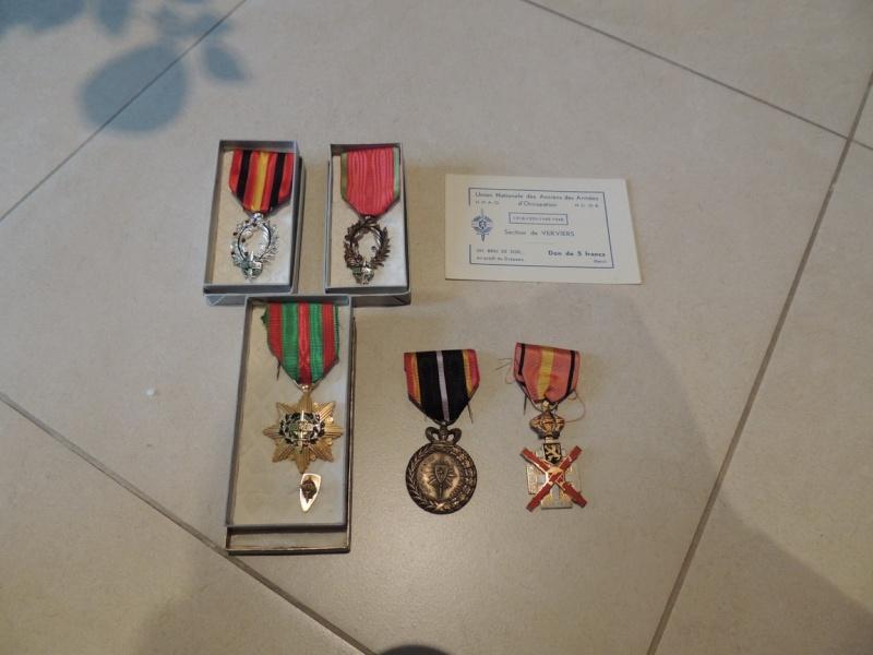 Ma petite collection de Médailles belges WW1 et WW2. Nouvelle arrivée 15/03/2015 Dscn4415