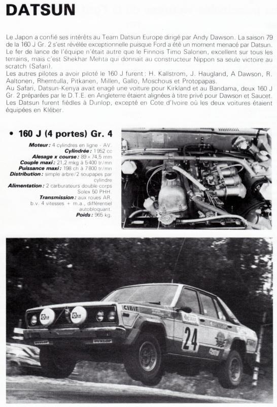 Résurection restauration DATSUN VIOLET GR2 EX ANDY DAWSON - Page 4 Datsun10