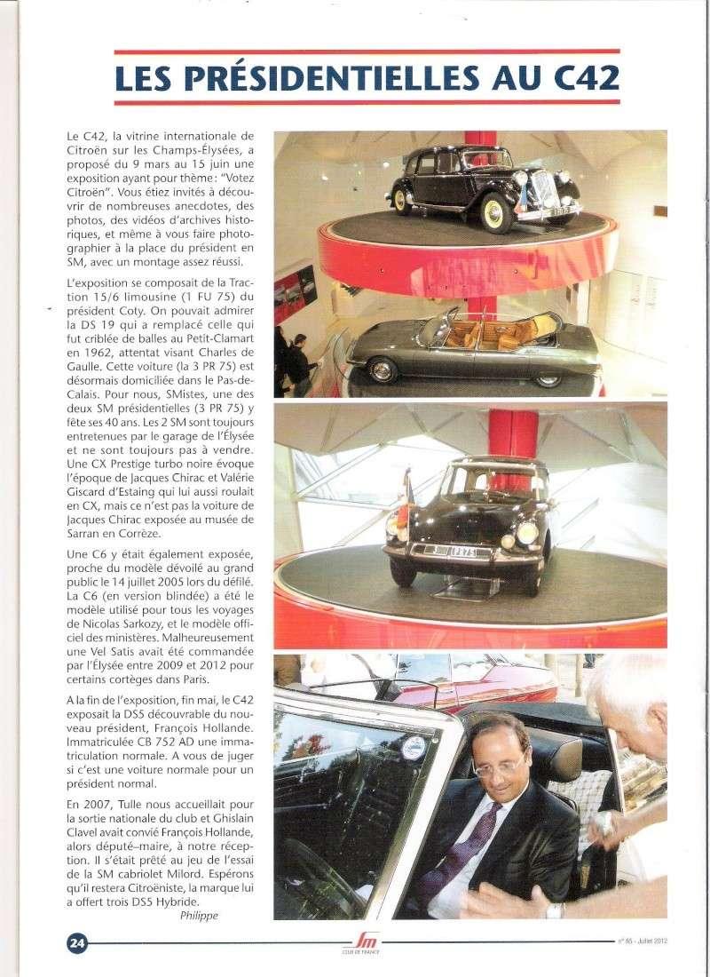 [EVENEMENT] La DS 5, voiture présidentielle - Page 10 C42211