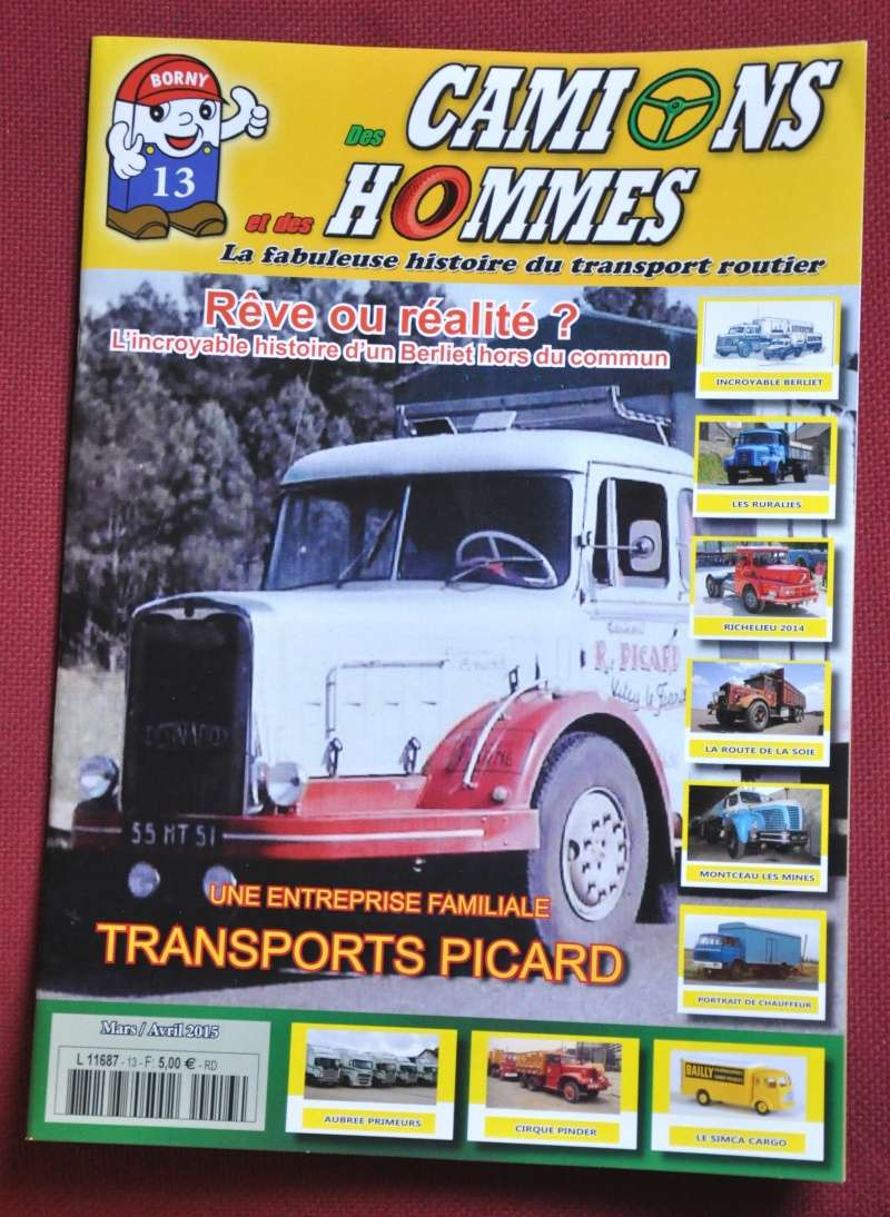le numéro 13 du magazine Des Camions et des Hommes Couver10