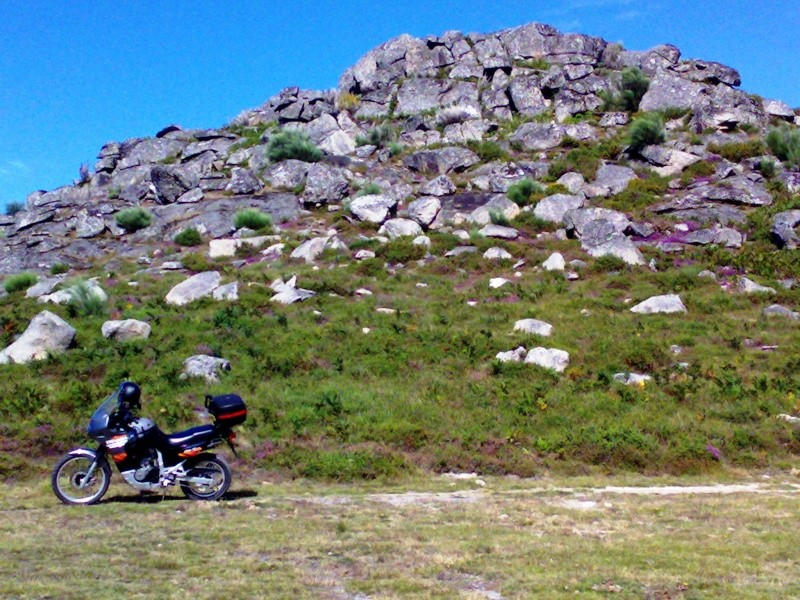 Transalp no seu habitat natural Mostei11