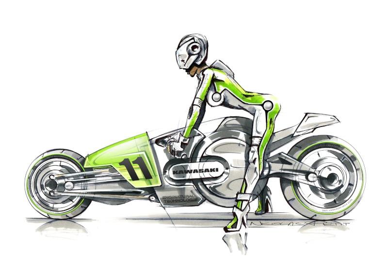 moto du futur Kawasa15