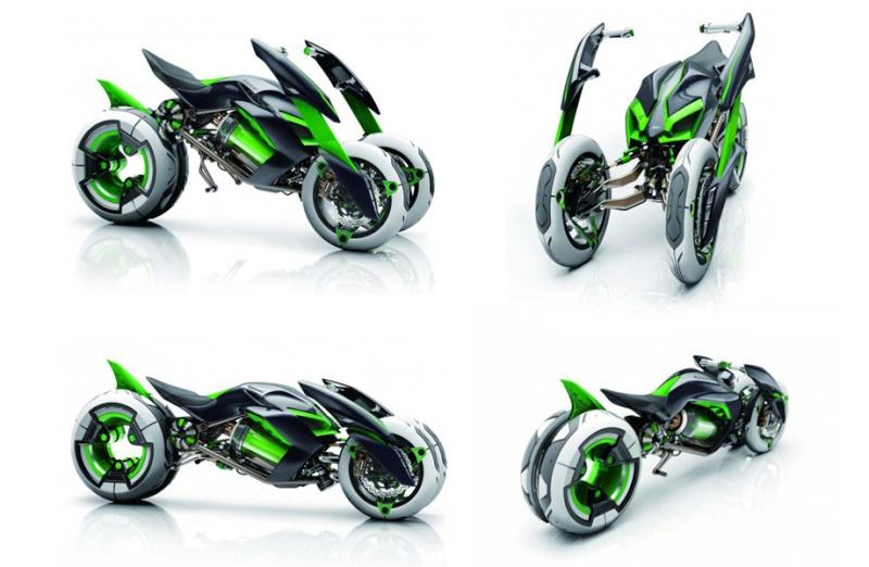 moto du futur Kawasa18