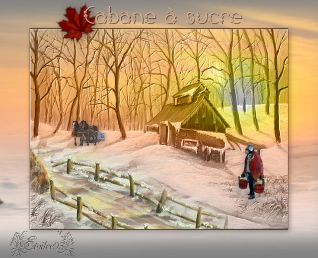 Cabane à sucre ( PSP/Coups de pinceaux) Image211