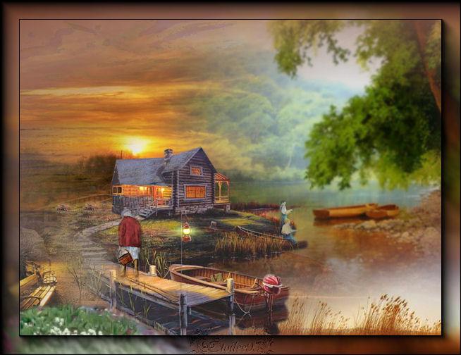 Soirée d'été au chalet(PSP/Coups de pinceaux) - Page 2 Image616