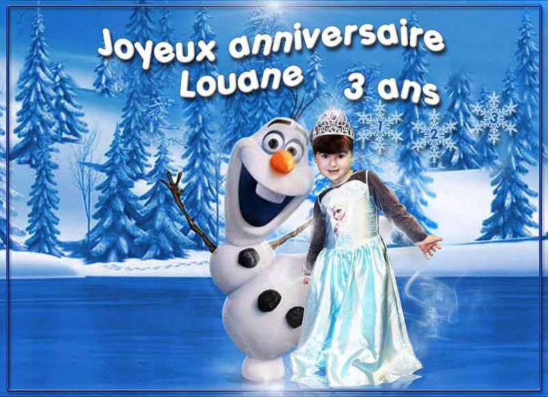 3 ans de Louane Calysc13