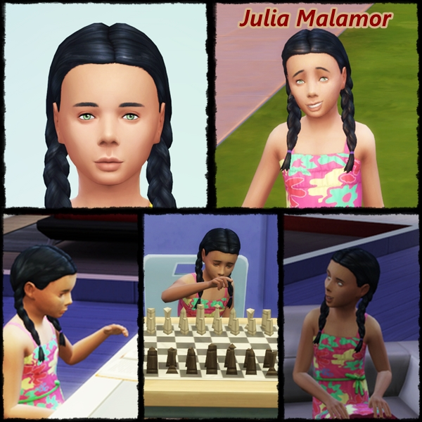 [Challenge] Tranches de Sims: Rico Malamor est pris au piège - Page 2 Julia10
