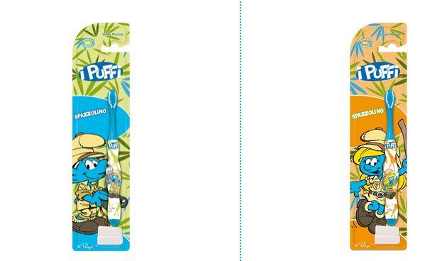 schtroumpfette - [sodico] produits pour le corps schtroumpf et schtroumpfette (italie) Shampo17