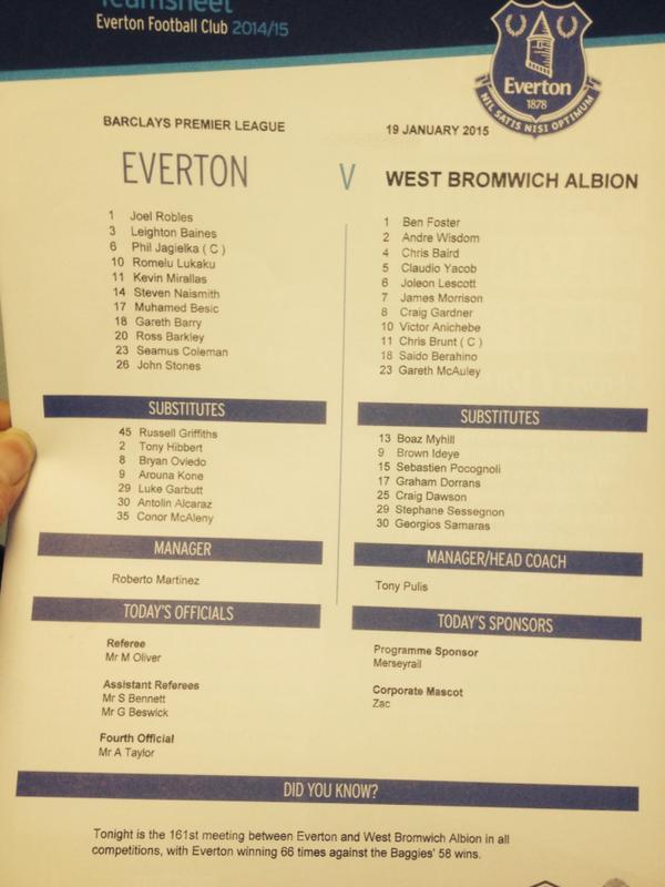Everton vs West Brom B7va-g10