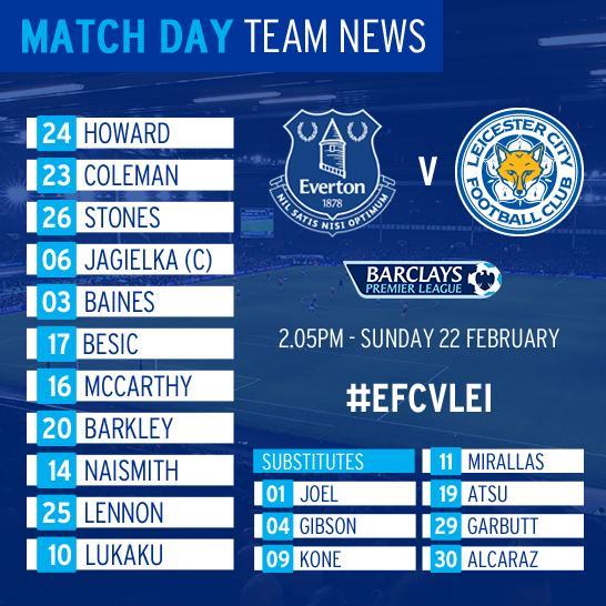 Everton vs Leicester City Captur31
