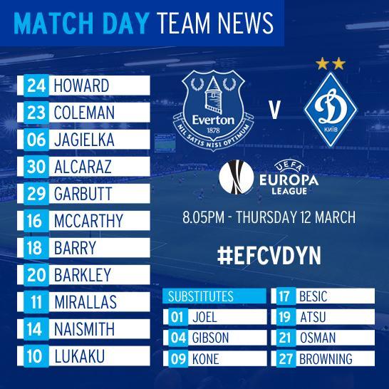 Everton v Dynamo Militia Captur45