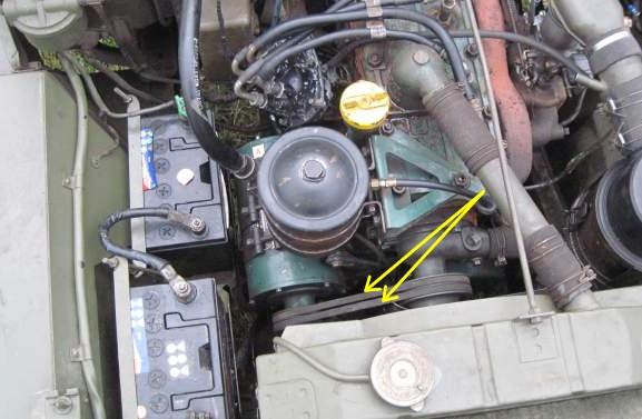 Le circuit de charge et de démarrage de la jeep Elec_114