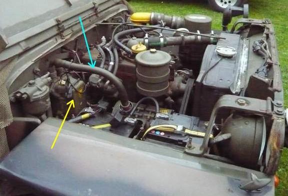 Le circuit de charge et de démarrage de la jeep Elec_116