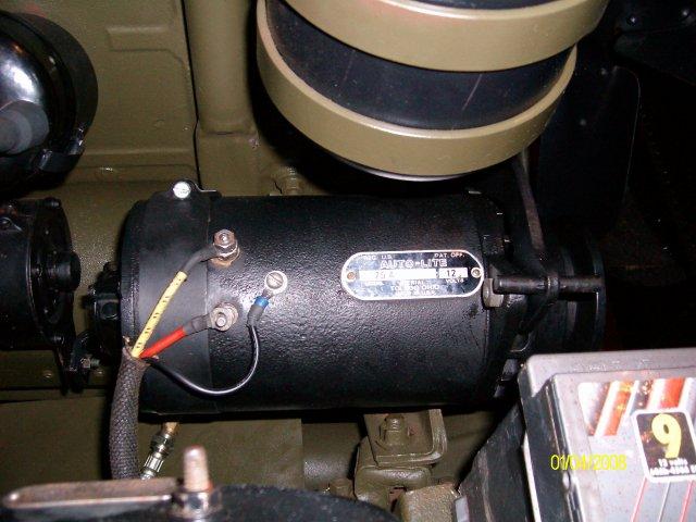 Le circuit de charge et de démarrage de la jeep Elec_310