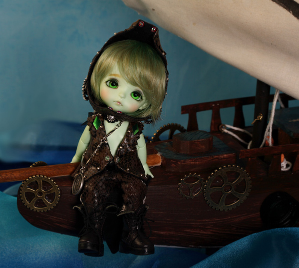 Yellow - Limited Peterpan in Steamland ver. V.Haru [Crocodile] Yellow47