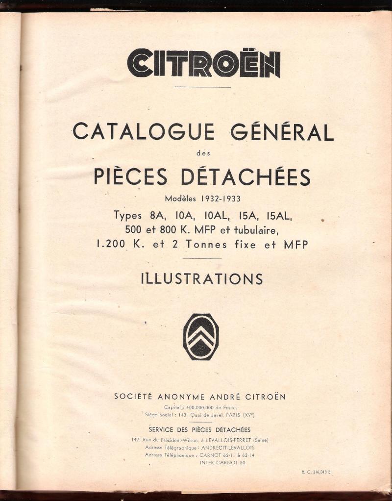 Catalogue pièces détachées Catalo10