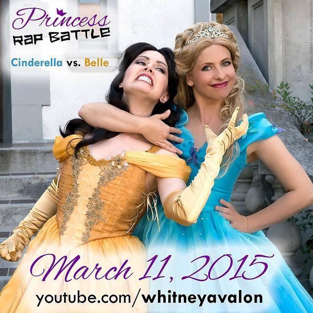 Princess Rap Battle : Cinderella vs. Belle 11008710