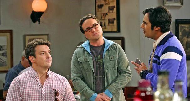 """Nathan Fillion dans """"The Big Bang Theory"""" dans son propre rôle Captur10"""