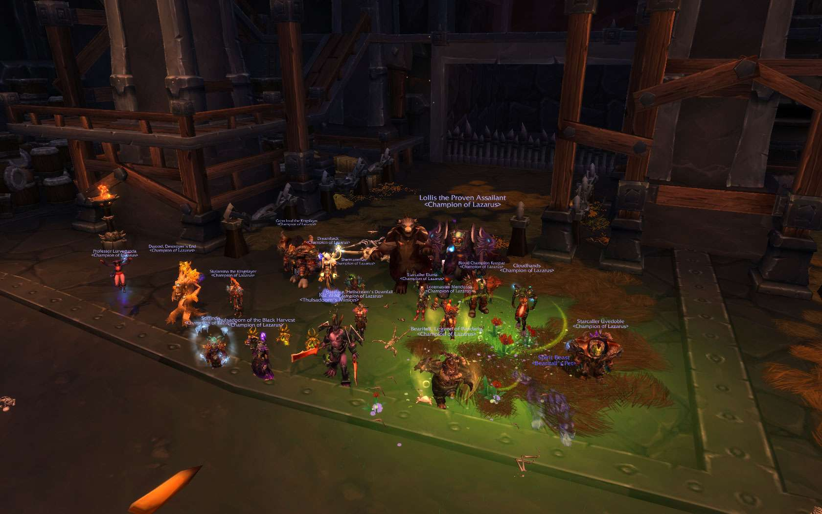 Beastlord HC quickly downed as well Wowscr23