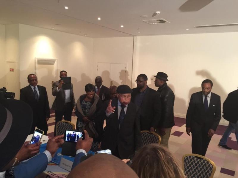 Etienne Tshisekedi réapparaît pour la première fois en public 10995910