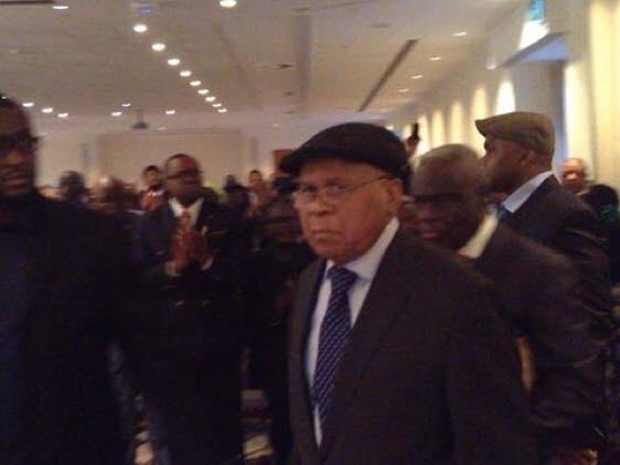 Etienne Tshisekedi réapparaît pour la première fois en public Congo910