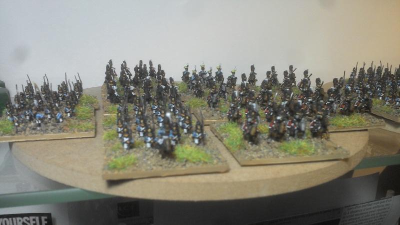 Armée bavaroise Adler 6mm Cavale13
