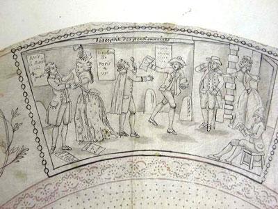 Les éventails au XVIIIe siècle 113