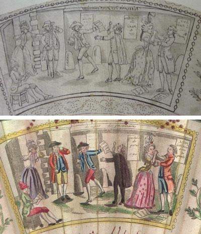 Les éventails au XVIIIe siècle 213