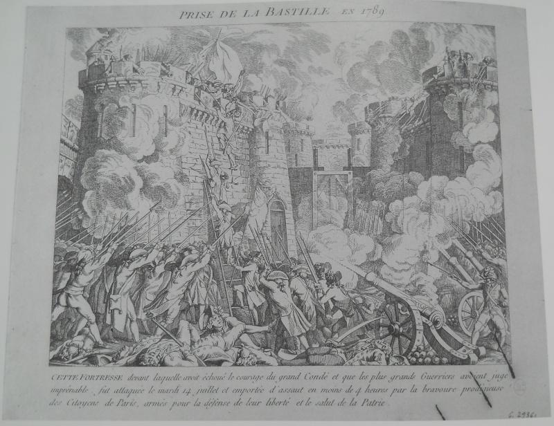 14 juillet 1789 : la  prise de la Bastille 410