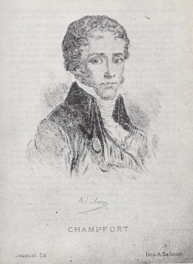 Sébastien-Roch Nicolas, dit Chamfort 711