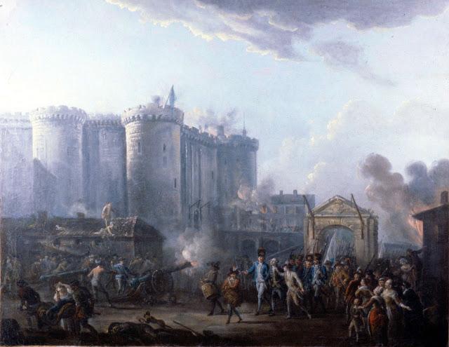14 juillet 1789 : la  prise de la Bastille 810