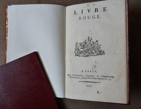 Les Polignac et la publication du Livre rouge Aaa10