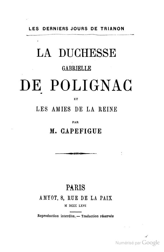 Gabrielle ou Yolande de Polignac ? Books_21