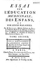 """Emergence de la """"pédiatrie"""" dans les """"maisons"""" des enfants royaux au XVIIIème siècle Booksi11"""