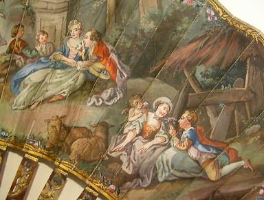 Les éventails au XVIIIe siècle C10
