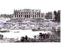 La reine à St.Ouen, chez M. de Nivernais Chatea13