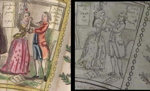 Les éventails au XVIIIe siècle Compde10