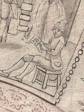 Les éventails au XVIIIe siècle Detsav10